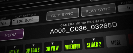 QTAKE Features - Camera Metadata