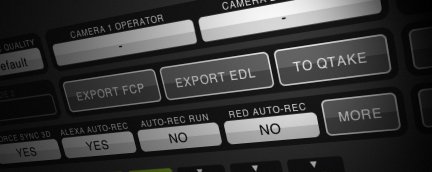 QTAKE Features - Export to 3rd party apps
