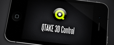QTAKE Features - QTAKE 3D Control