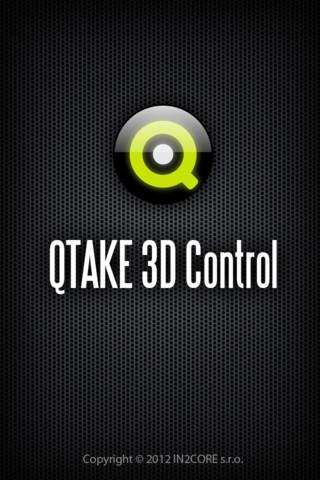 QTAKE 3D Controll iOS app