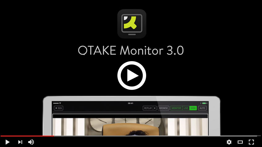 QTAKE • Most advanced software tool for video assist