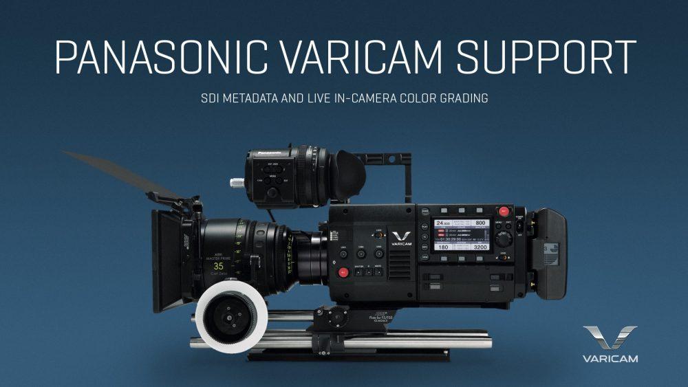 QTAKE supports Panasonic VariCam