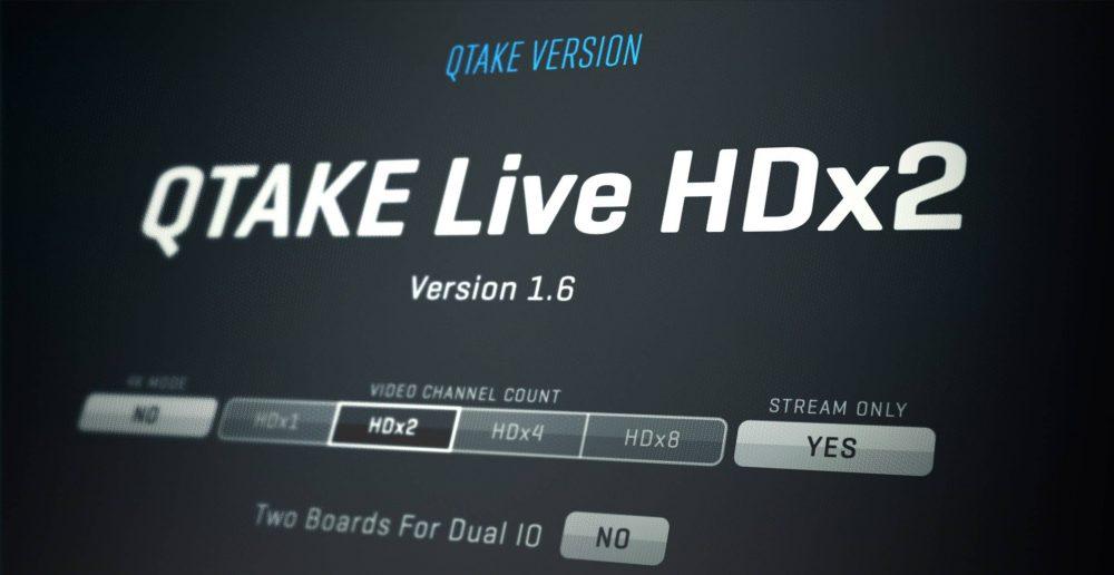 QTAKE Live banner